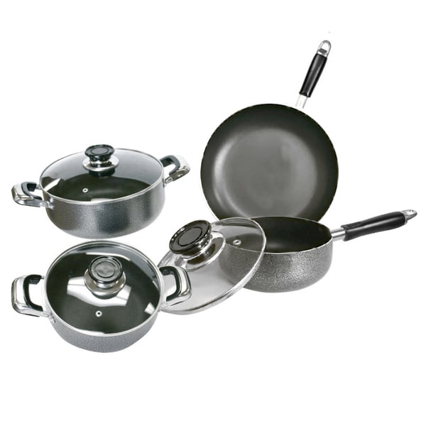 Aluminum Non-Stick Cookware 7-piece Set