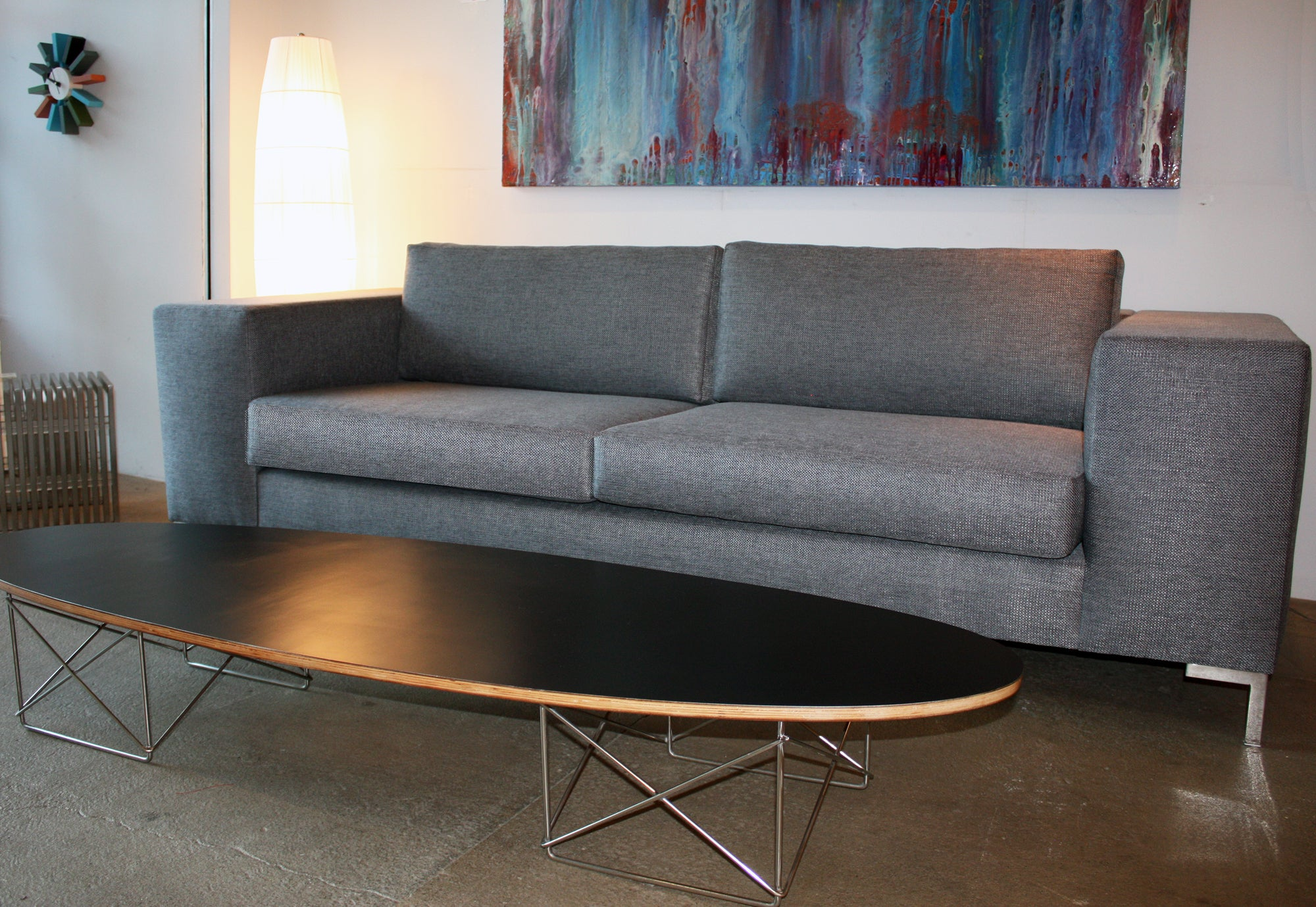 Decenni Custom Seven-foot Otto Sofa