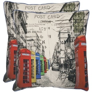 London 20-inch Decorative Pillows (Set of 2)