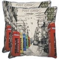 London 18-inch Decorative Pillows (Set of 2)