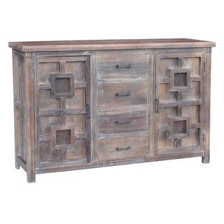 Barton 4-drawer 2-door Cabinet