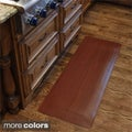 Comfort Style Wood Grain Cushion Mat (1'6 x 5')