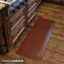 Comfort Style Wood Grain Cushion Mat (1 ft 6 in x 3 ft)