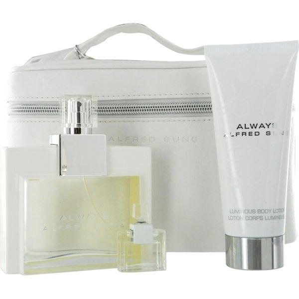 Alfred Sung Always Women's 4-piece Fragrance Set