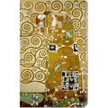 Gustav Klimt 'Fulfillment' Stretched Canvas Art