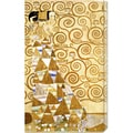 Gustav Klimt 'Expectation' Stretched Canvas Art