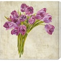 Leonardo Sanna 'Bouquet de Tulipes' Stretched Canvas Art