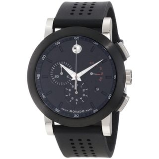 Movado Men's 0606545 Stainless Steel Museum Sport Chronograph Watch
