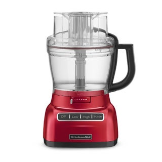 KitchenAid RKFP1344CA Candy Apple 13-cup Architect Food Processor (Refurbished)