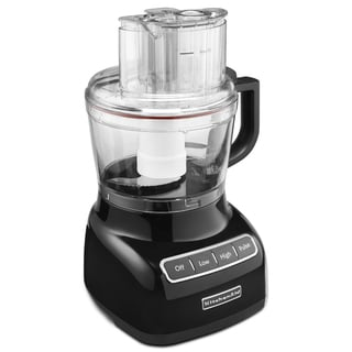 KitchenAid RKFP0922OB Onyx Black 9-Cup Food Processor (Refurbished)
