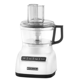 KitchenAid RKFP0711WH White 7-Cup Food Processor (Refurbished)