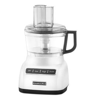 KitchenAid RKFP0711WH White 7-Cup Food Processor (Refurbished)