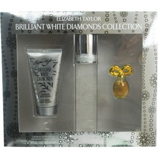 Elizabeth Taylor 'White Diamonds Brilliant' Women's 3-piece Fragrance Set