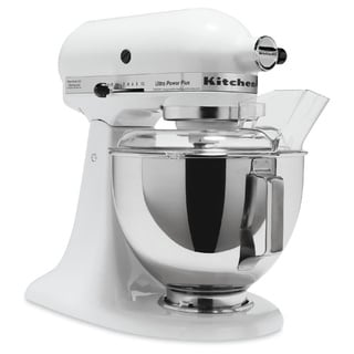 KitchenAid KSM100PSWH White 4.5-quart Ultra Power Tilt-head Stand Mixer