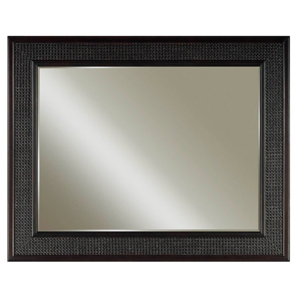 Water Creation London Collection Espresso Hardwood Bathroom Vanity Mirror