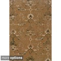 Indoor Rust/Beige Area Rug