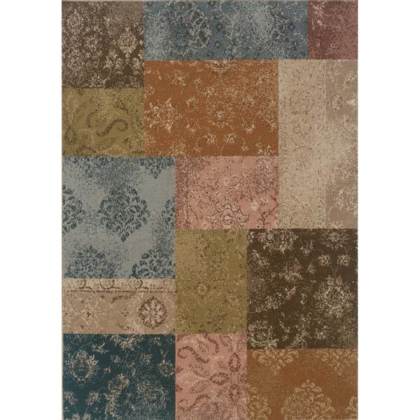 Indoor Multicolor Area Rug