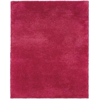 Indoor Pink Shag Area Rug