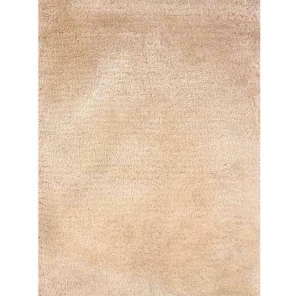 Indoor Ivory Shag Area Rug