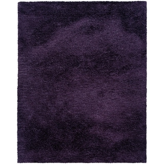 Indoor Purple Shag Area Rug