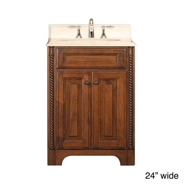 Water Creation Spain Collection Single Sink Bathroom Vanity Set