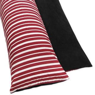 JoJo Designs Treasure Cove Pirate Full-length Reversable Double Zippered Body Pillow Case Cover