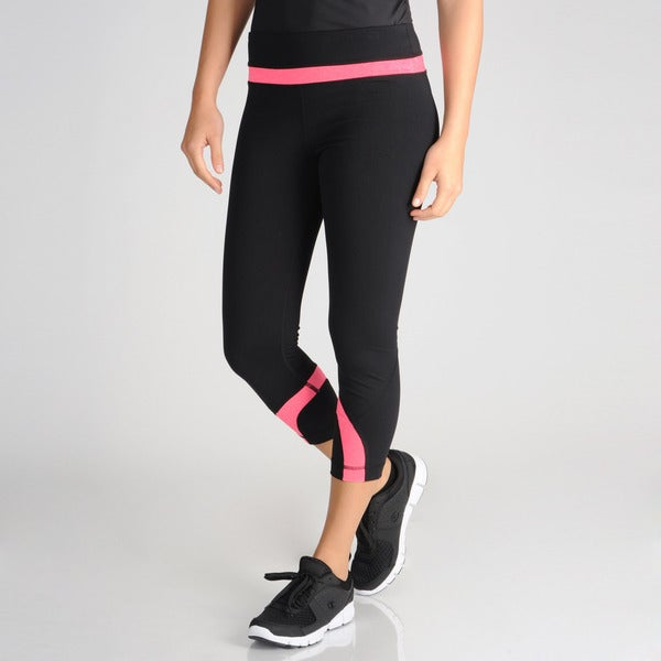 90 degree by reflex women s active color pop capris 15004724
