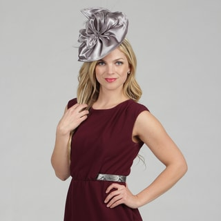 Swan Women's Grey Wool/ Felt Fascinator Hat