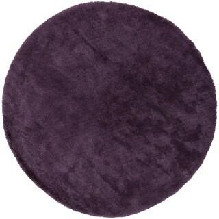 Hand-woven Socorro Soft Shag (8' Round)