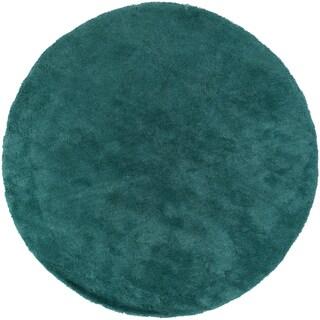 Hand-woven Lovington Soft Shag (8' Round)