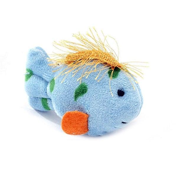 Multipet International Plush Talking Fish Toy