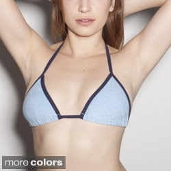 American Apparel Women's Loop Terry Bra