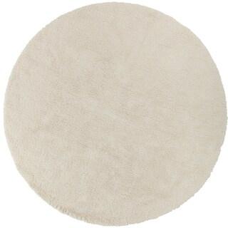 Hand-woven Portales Soft Shag (8' Round)