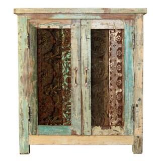 Vintage Carved Cabinet
