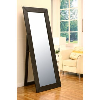 72-inch Engraved Classic Design Cheval Mirror
