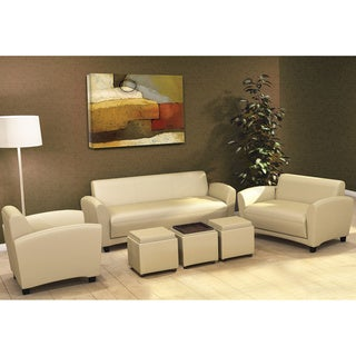 Mayline Santa Cruz Series Occasional Leather Sofa