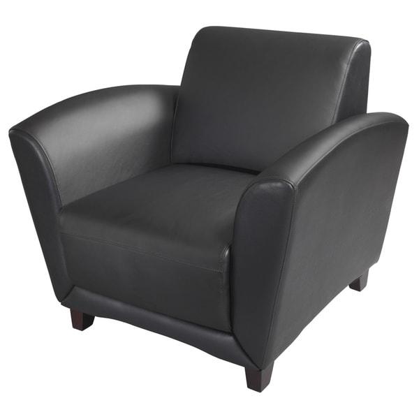 Mayline Santa Cruz Series Occasional Leather Chair