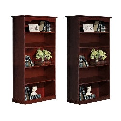 Mayline Toscana Series 5-shelf Bookcase
