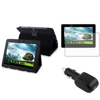 BasAcc Case/ Protector/ Car Charger for Asus Transformer Pad TF300T