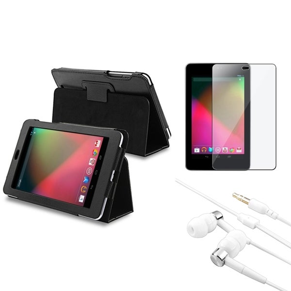BasAcc Leather Case/ Protector/ Headset for Google Nexus 7