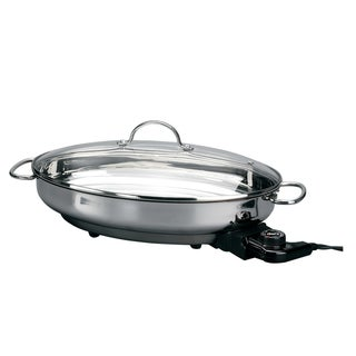 Deni Stainless Steel Electric Skillet