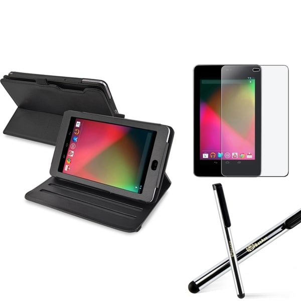 BasAcc Leather Case/ Protector/ Stylus for Google Nexus 7