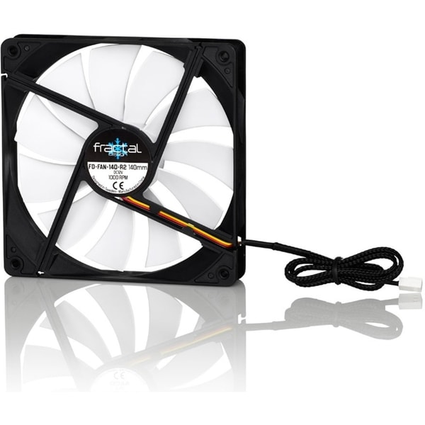 Fractal Design Silent Series R2 140mm Cooling Fan White