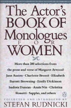 The Actor's Book of Monologues for Women: From Non-Dramatic Sources (Paperback)