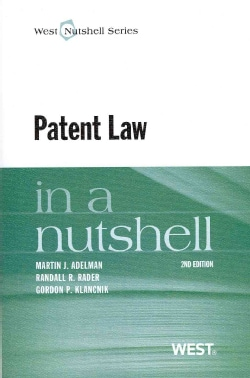 Patent Law in a Nutshell (Paperback)