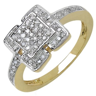 Malaika Silver 1/3ct TDW Diamond Ring (I-J, I3)