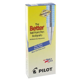 Pilot Better Fine Point Ballpoint Pens (Pack of 12)