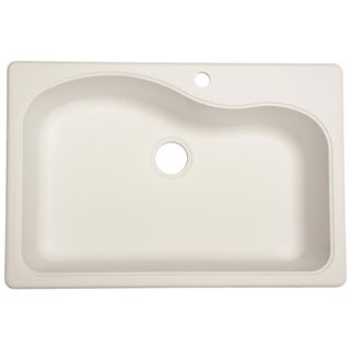 Franke Large Granite Single Bowl Undermount/ Self-Rimming Sink