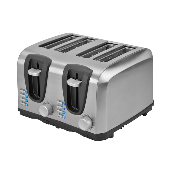 Kalorik Stainless Steel 4-Slice Toaster