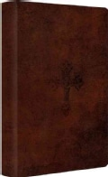 ESV Student Study Bible: English Standard Version, Walnut, Trutone, Weathered Cross Design